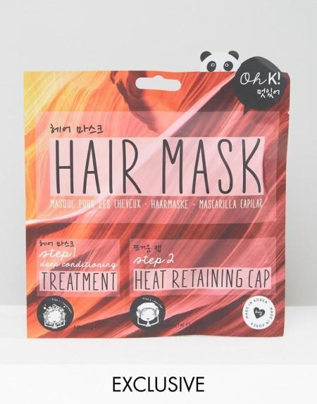 Oh K! - Deep Nourishing Steam - Haarmaske - Transparent