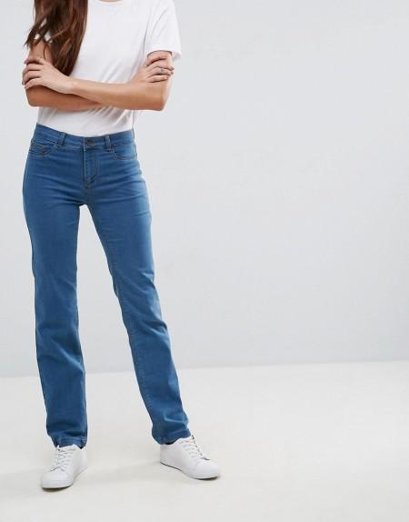 b.young: b.Young - Jeans mit geradem Schnitt - Blau
