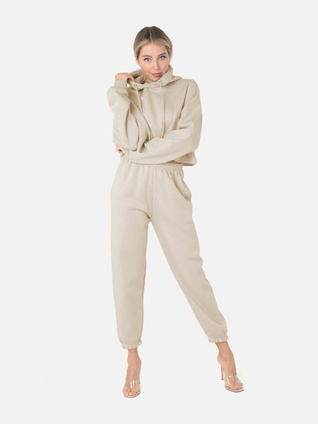 VENUE Fashion: Crop Hoodie 2-Teiler