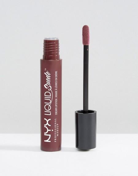 NYX Professional Makeup: NYX Professional Make-Up - Liquid Suede - Creme-Lippenstift - Schwarz