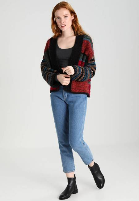 Sisley: CARDIGAN - Strickjacke - red