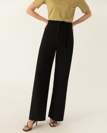 IVY & OAK: Weitgeschnittene Hose mit Gürtel