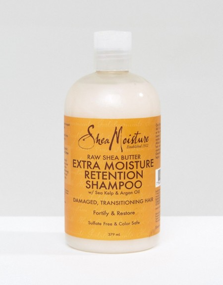 Shea Moisture - Pflege-Shampoo mit Sheabutter für extra Feuchtigkeit - Transparent