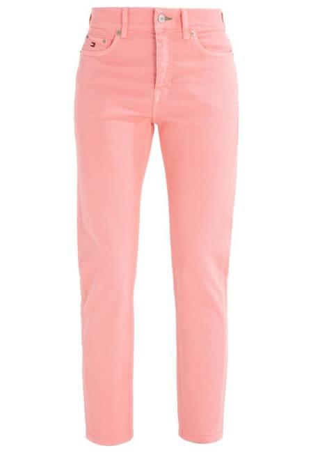 Hilfiger Denim: HIGH WAIST CROP JEAN W27 - Jeans Slim Fit - rose