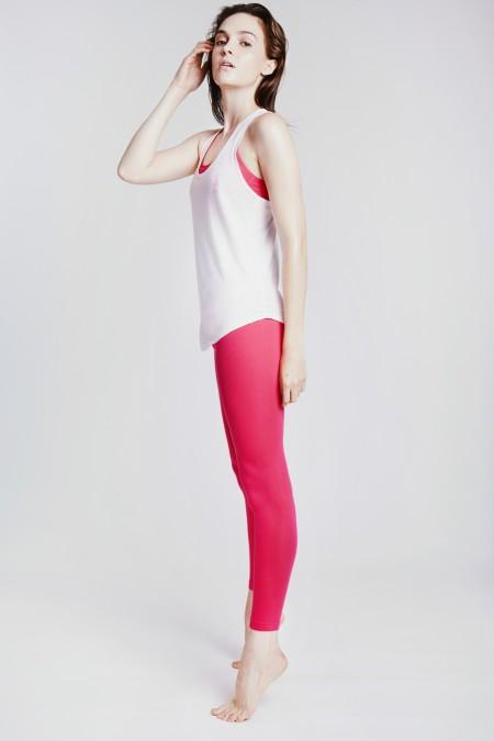 Hey Honey: Leggings Core Collection Hibiscus Pink