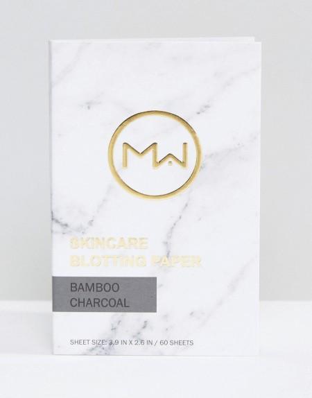 Beauty Extras: Mai Couture - Blotting-Paper Bambus Kohle (60 Blätter - Transparent