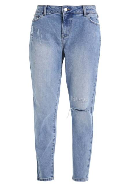 Twintip: Jeans Relaxed Fit - blue denim
