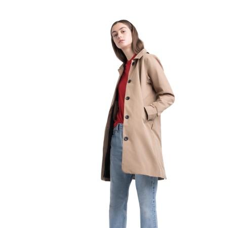 Herschel Damen Mac Jacket Khaki / Beige Jacke