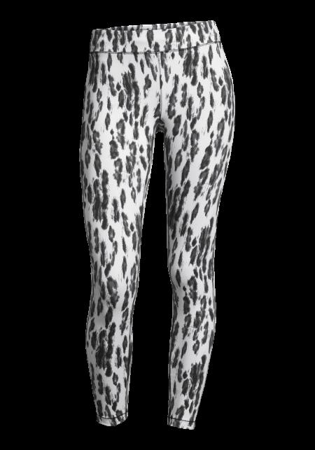 Casall Fuzzy print 7/8 tights - Fuzzy white