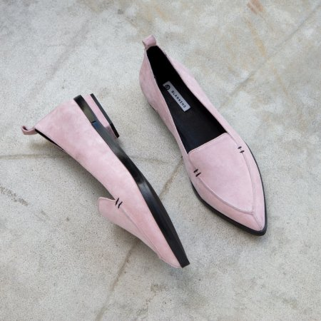 Blankens: THE SIDNEY PINK SUEDE