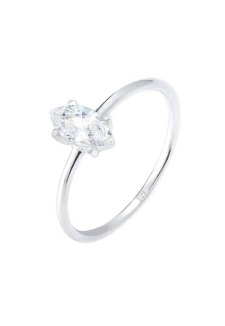 Elli: MARQUISE - Ring - silver-coloured