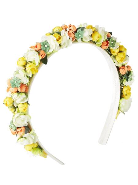LIMBERRY Haarkranz mit Blumen – WIESENBLUME gelb