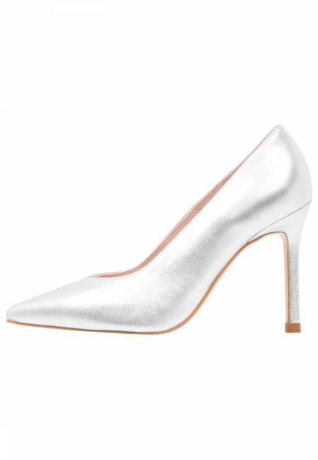 Zign: High Heel Pumps - silver
