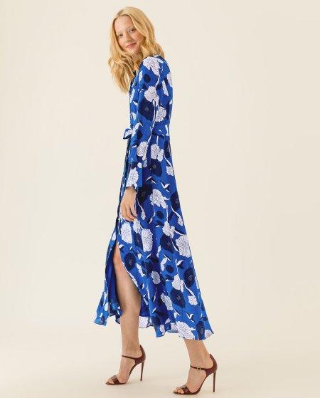 IVY & OAK: Hemdkleid mit Blumenprint