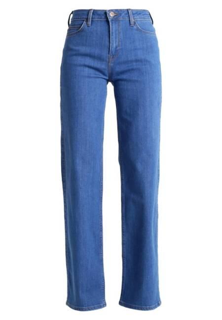 Lee: WIDE LEG - Flared Jeans - flat disco blue