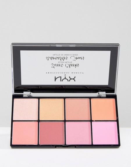 NYX Professional Makeup: NYX Professional Make-Up - Sweet Cheeks - Rouge-Palette - Mehrfarbig