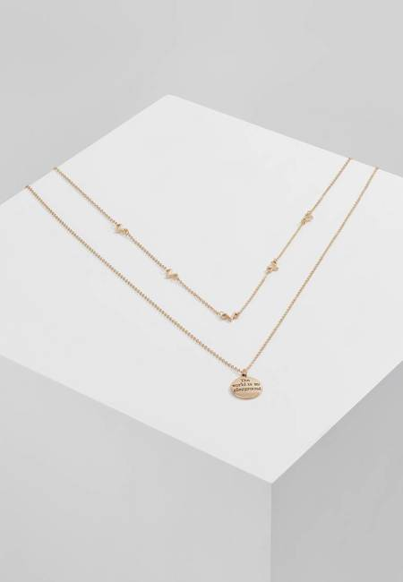 ONLY: ONLDANTE 2 PACK  - Halskette - gold coloured