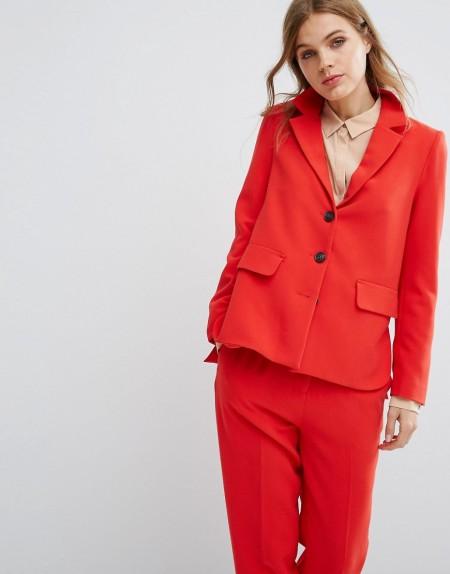 Selected - Anzug-Blazer, Kombiteil - Rot