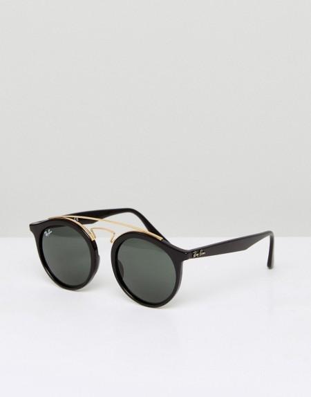 Ray-Ban - Runde Gatsby-Sonnenbrille, 0RB4256 - Schwarz