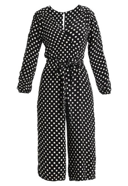 New Look: POLKA DOT - Jumpsuit - black