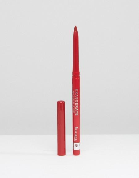 Rimmel London: Rimmel - Exaggerate Full Colour - Lipliner-Definierer - Rot
