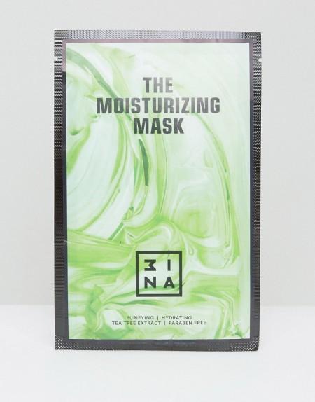 3ina - Feuchtigkeitsspendende Tuchmaske mit Hyaluronsäure & Teebaum - Transparent