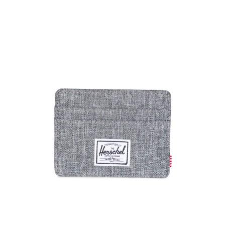 Herschel Charlie (RFID) Wallet Raven Crosshatch Kartenetui