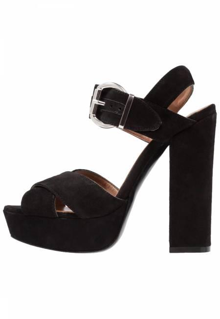 Mai Piu Senza: High Heel Sandaletten - black