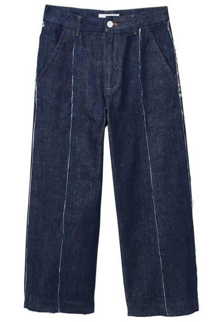 Mango: CULOTTE - Flared Jeans - open blue
