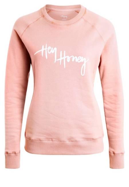 Hey Honey: Sweatshirt - rose