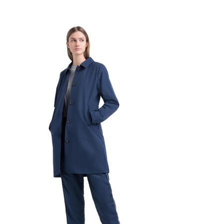 Herschel Damen Mac Jacket Peacoat / Blau Jacke