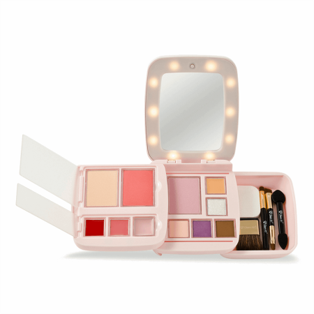 Glam-it™: GlamPact™   Modulare Make-up Palette mit LED Spiegel