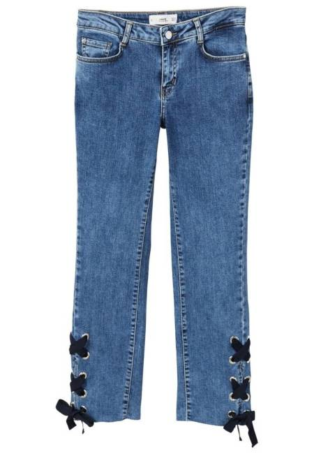 Mango: ZIGZAG - Jeans Straight Leg - blue