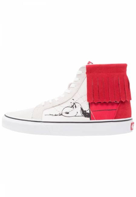 Vans: PEANUTS SK8-HI - Sneaker high - bone