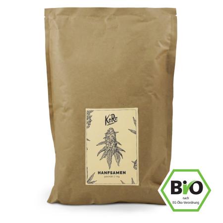 KoRo: Bio Hanfsamen geschält | 1 kg
