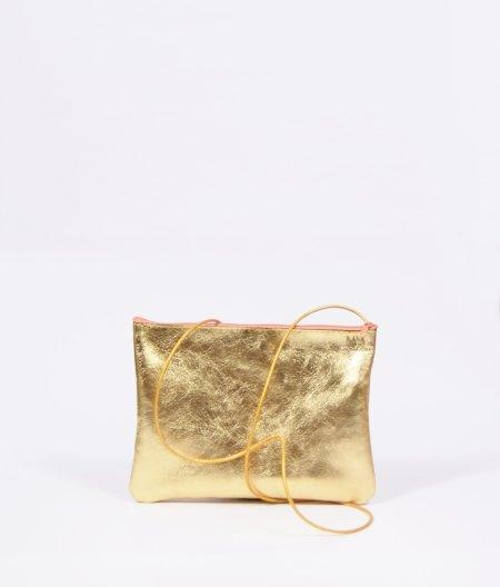 Monday Market: Ledertäschchen Claire in gold