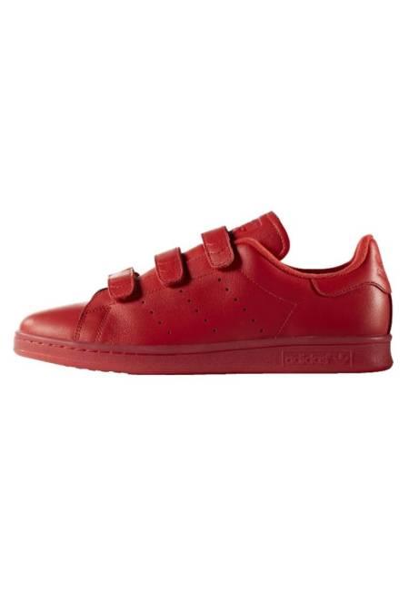 adidas Originals: STAN SMITH  - Sneaker low - red