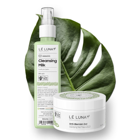 Lé Luna Organics: LeLuna Reinigungsmilch und Anti-Unreinheiten Gel