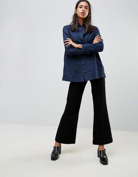 Waven - Fenn - Jeans mit Schlag - Schwarz