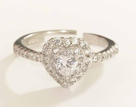 Knocknok: Herz-Ring Diamonds