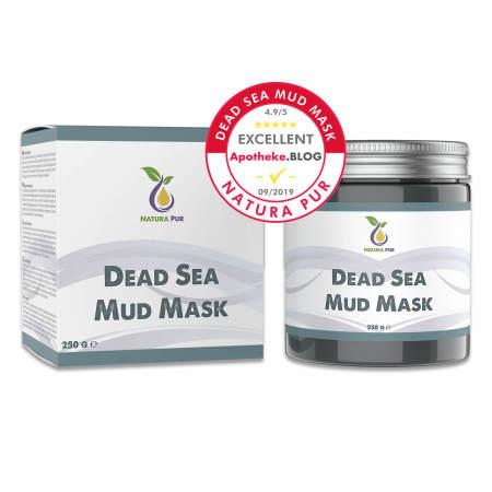 Natura Pur: Totes Meer Schlamm Gesichtsmaske 250g, vegan