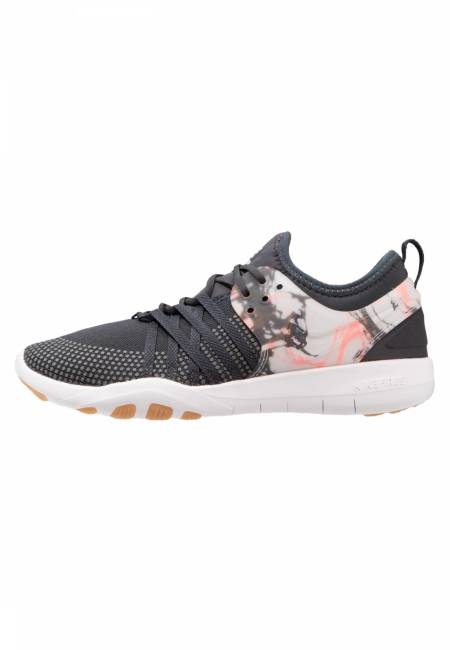 Nike Performance: FREE TR 7 - Laufschuh Natural running - anthracite/white