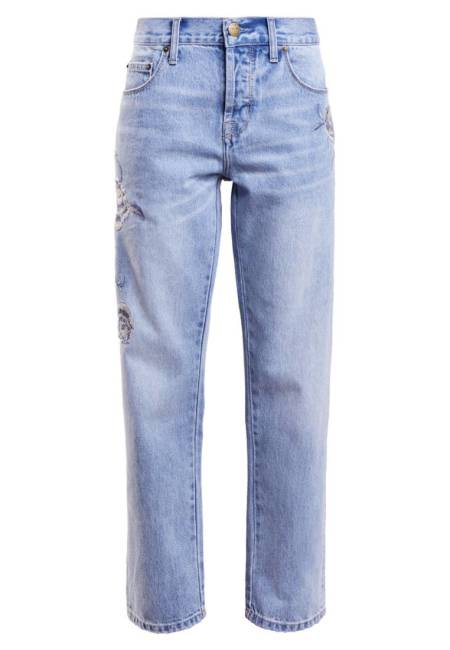 Current/Elliott: THE CROSSOVER - Jeans Relaxed Fit - light-blue denim