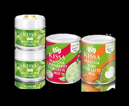 KISSA Tea: KISSA Matcha Mixed Set