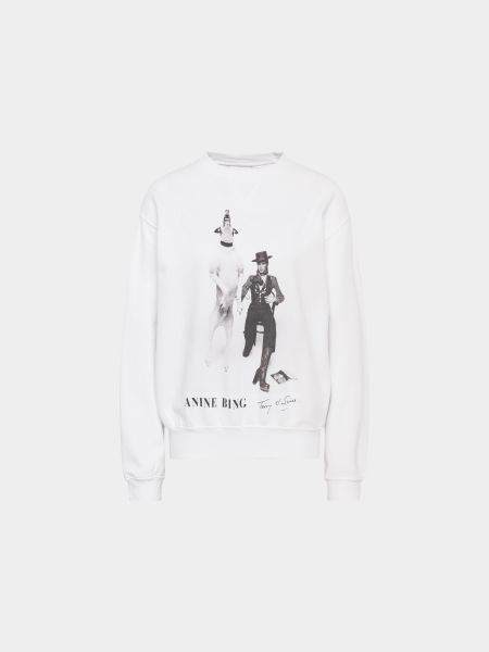 Anine Bing: Sweatshirt mit Print