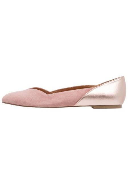 mint&berry: Klassische Ballerina - taupe