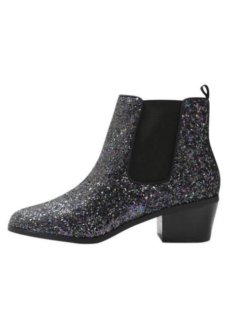 Steve Madden: RADLY - Ankle Boot - navy glitter