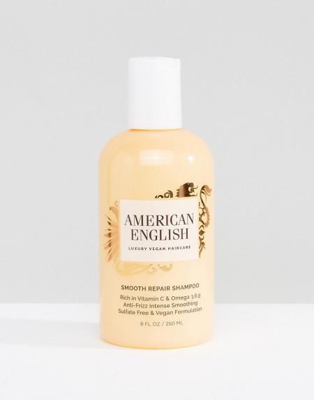American English - Smooth Repair - Veganes Shampoo - Transparent