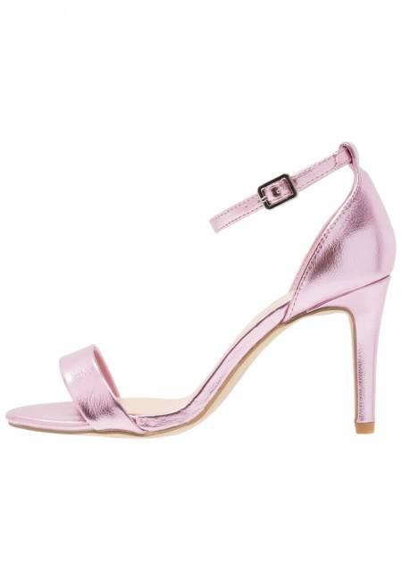 New Look Wide Fit: WIDE FIT SENSIBLE 4 - High Heel Sandaletten - light pink