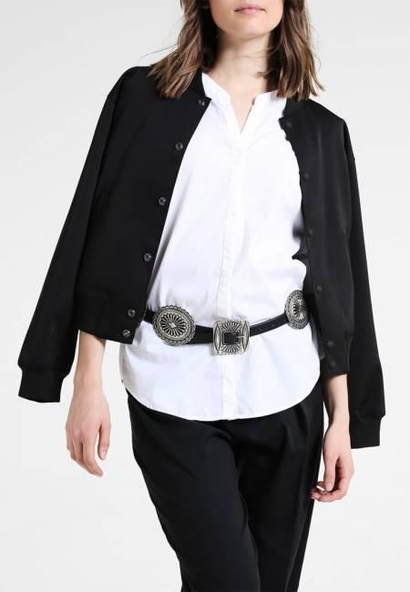 Polo Ralph Lauren: DISTRESSED CONCHOS - Taillengürtel - black